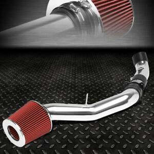 For 03 06 Nissan 350z Lightweight High Flow Cold Air Intake System Red Filter