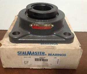 Sealmaster Sf26t Ball Bearing Flange Unit New
