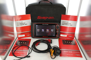Snap On Solus Edge Eesc320 17 2 Diagnostic Obd Scanner In Case W Euro Software