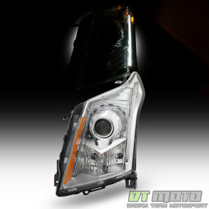 New Headlamps For 2010 2014 Cadillac Srx Headlight hid Xenon Model Driver Side