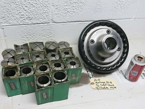 Hardinge D1 8 Collet Speed Chuck With 17 3j Collets