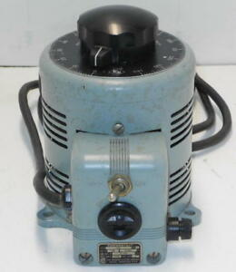 Power Stat Variable Autotransformer Variac 120v In And 0 140v Out 7 5 Amps 116