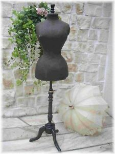 Rare Antique French Wasp Waist Mannequin Adjustable 1889th Size 42