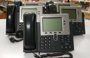 Cisco 7942g Voip Business Phones lot Of 5 Phones