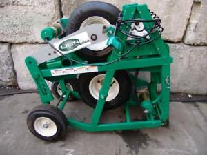 Greenlee 6810 Ultra Cable Feeder Wire Tugger Puller Fine Working Condition