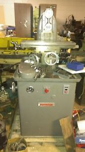 Sheldon Horizontal Milling Machine With Vise arbors And Rusnok Head southbend