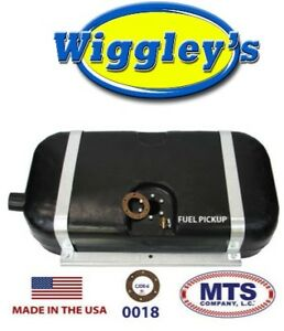 Plastic Fuel Tank Mts 0018 Fits 46 63 Willys Wagon 48 51 Jeepster 15 gal