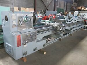 Mazak 34 X 240 Lathe W Steady Rests Dorian Toolpost 4 1 16 Spindle Hole