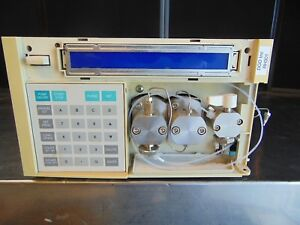 Hitachi L 7100 Pump Hplc Chromatography Liquid Powers On Display Works Rh301