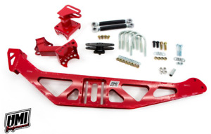 Umi 82 02 Camaro Firebird Fabricated Watts Link Factory Rear End 2080 275 Red