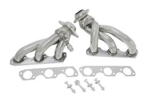 Manzo Stainless Steel Exhaust Shorty Headers Fits Ford Mustang 01 04 3 8l V6