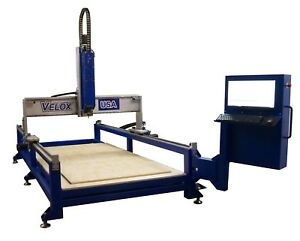 New 4x8 With 24 Z Axis Cnc Router Foam Cnc Ready To Cut 4 x8 x 24