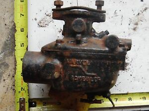 Oliver Tractor 88 Carb Tsx 374