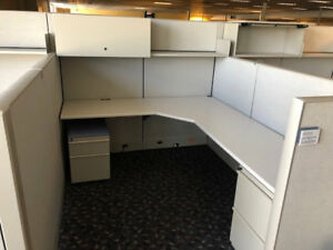Used Office Cubicles Knoll Dividends Cubicles 6x7