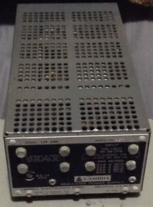 Vintage Lambda Regulated Power Supply Model Lm226 Nos Tested 8 5 To 14 Vdc 3 3a