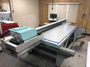 2010 Fuji Acuity Hs Oce 550gt Operates Needs Printheads Uv Large Format Printer
