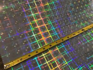 Hyperplaid Holographic Sign Vinyl 24 Inch X 10 Feet Free Shipping For Usa