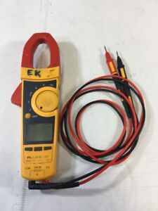 Fluke Multimeter 337 Tru Rms Clamp Meter With Tl175 Twistguard Leads bd1048982