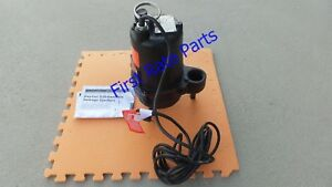 Dayton 4hu80 Submersible Sewage Pump 115v Effluent 1 2 Hp 2 2in Cast Iron 25ft