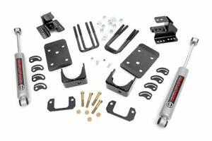 Rough Country 2 4 Lowering Kit For 07 14 2wd Chevy Silverado Gmc Sierra 1500
