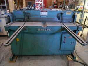 Wysong H 52 16 Gage 52 Metal Shear With Drop Table 3 Phase