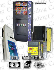 Crane Navigator Credit Card Kit For Seaga Hf3500 Combo Machine With Refurb Mars