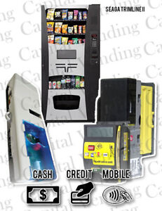 Crane Navigator Credit Card Kit For Seaga Trimline Ii Machine With Refurb Mars