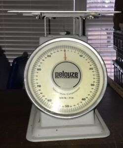 Pelouze Scale 100lb Shipping warehouse Mechanical Scale Nice Industrial