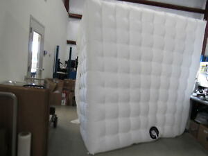 Stagerbooth Inflatable Booth Enclosure With Led Lights And Built In Air Blower