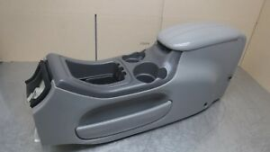 Ford Expedition Lincoln Navigator F150 Center Console Grey Gray 97