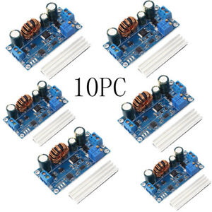 10pc Adjustable Automatic Step up And Down Power Supply Module Voltage Converter