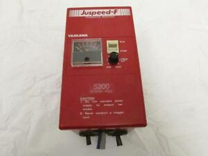 Yaskawa Cimr f15as3 0020a Variable Speed Frequency Drive Juspeed f Vfd S300 Y e