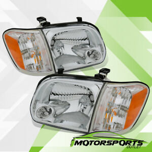 For 2005 2006 Toyota Tundra 2005 2007 Sequoia Headlights corner Signal Lights