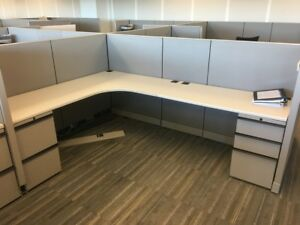 Used Office Cubicles Knoll Morrison 6x8 Cubicles