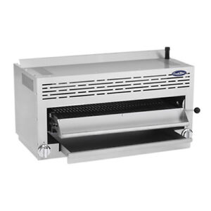 Atosa Atsb 36 Cookrite 36 Gas Salamander Broiler W 2 Infrared Burners