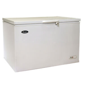 Atosa Mwf9016 15 9 Cu Ft Solid Top Chest Freezer W White Coated Exterior