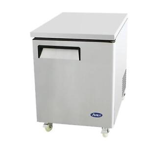 Atosa Mgf8405 27 Single Door Undercounter Reach in Freezer