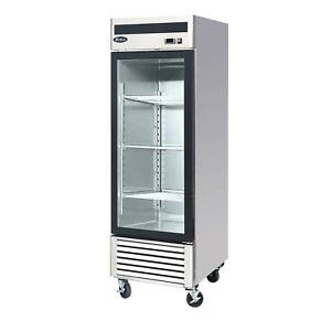 Atosa Mcf8701gr 21 Cu Ft Single Section Freezer Merchandiser