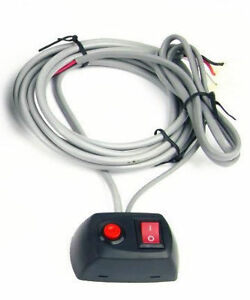 On Off Pattern Switch Wiring Harness Unit For Led Flash Warning Strobe Light