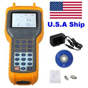 Us Ship Ry s110 Ry S110 Catv Cable Tv Digital Signal Level Meter Db Tester