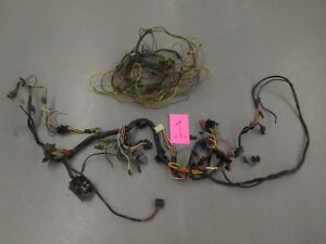 66 67 Fairlane Dash And Trunk Wiring Harness