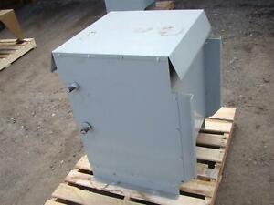 Hammond Power 60kva 3 phase Dry Type Drive Isolation Transformer 690y 398v X 480