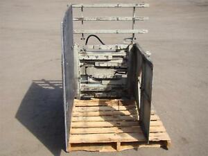 Brudi Carton Clamp Forklift Attachment Rated Cap 2000lbs At 24 Ccg20 a25