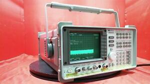 Hp Agilent Keysight 8560e Spectrum Analyzer 30 Hz To 2 9 Ghz