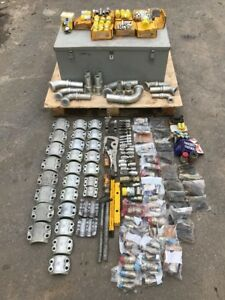Lot Parker hannifin Ph Hydraulic Fittings Aeroquip crimping Free Hose Fittings
