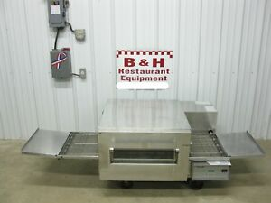 Lincoln Impinger 18 Conveyor Belt Pizza Sub Oven W Sandwich Door 1132