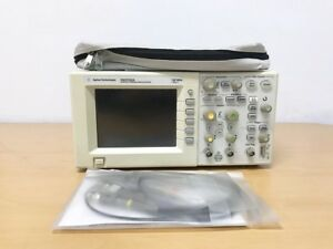 Agilent Dso3152a 150mhz 1gs s 2ch Oscilloscope With P6100 Probes