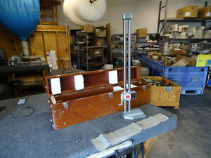 Spi Dial Double Beam 001 24 Height Gage In Wooden Box