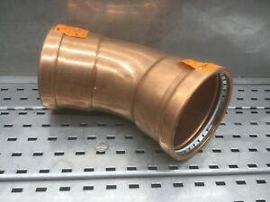 Viega Propress Copper Coupling 30 Degree Elbow 4 Inch Plumbing P X P New