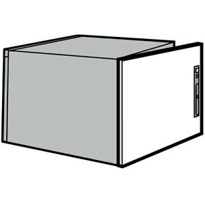 Hoffman Pds7a6r Door Upper Rear Fits 882 Mm X 600 Mm Steel Light Gray